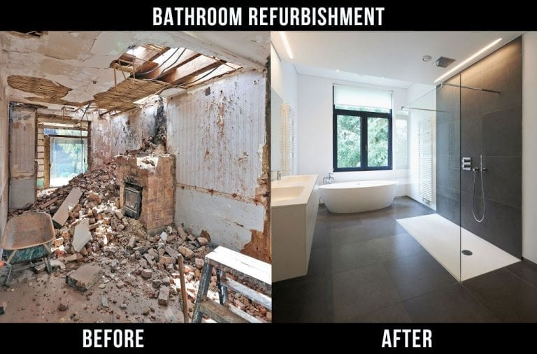 professional bathroom renovation Booterstown